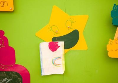 come decorare una parete