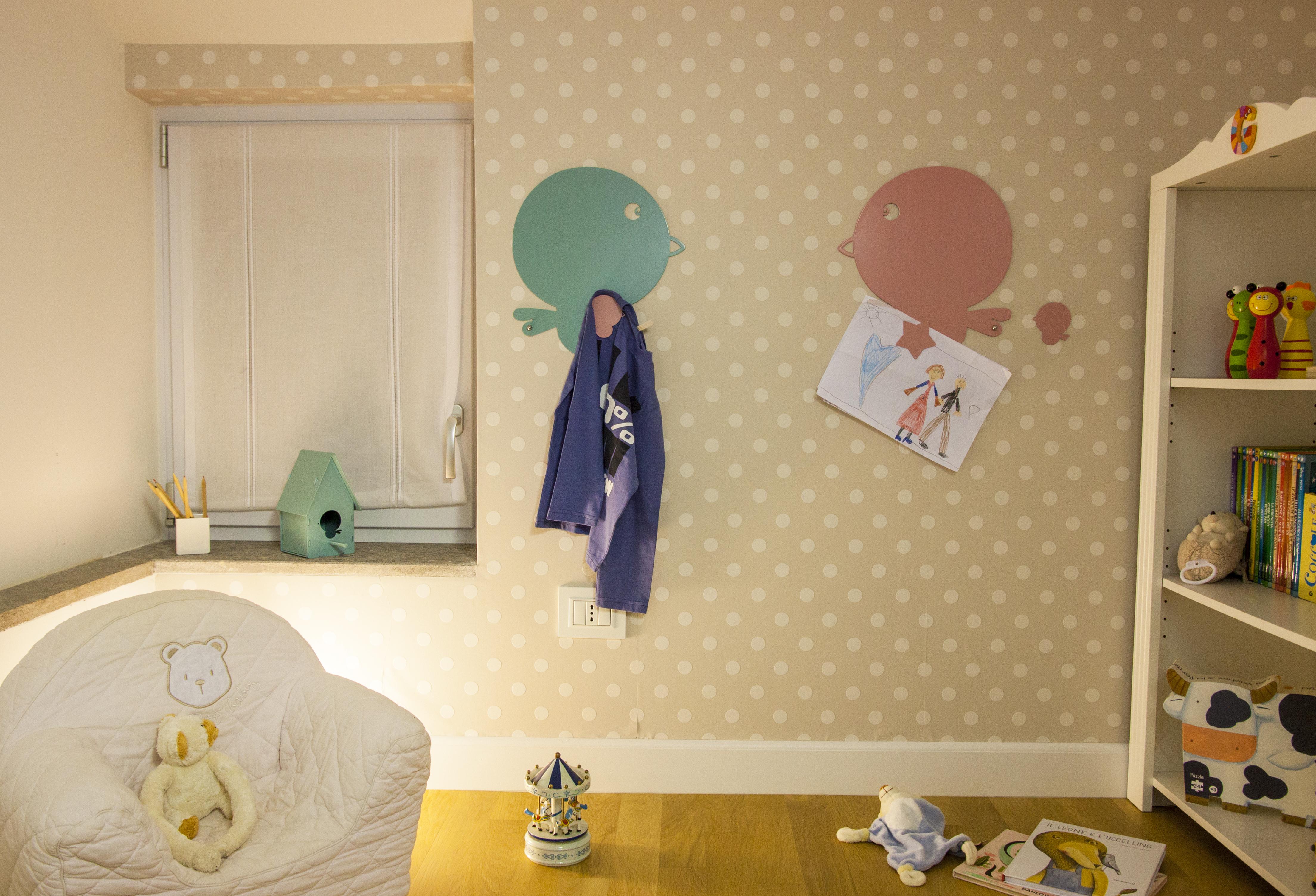 Come arredare una cameretta idee a misura di bambino - Porta merenda bimbi ...